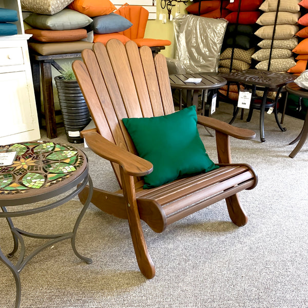 Jensen Leisure Adirondack Chair is available in our Jacobs Custom Living Spokane Valley showroom.
