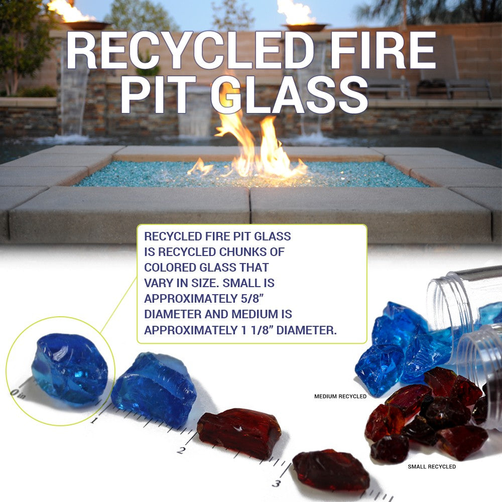 Auburn Small Fire Glass Fire Media Kit is available at Jacobs Custom Living Spokane Valley showroom.