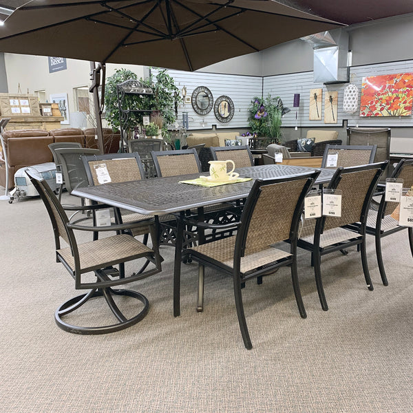 "Hanamint Berkshire 42""x76"" Extension Table is available at Jacobs Custom Living Spokane Valley showroom."