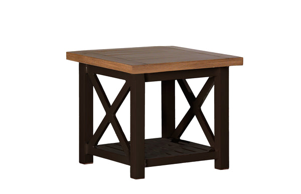 Summer Classics Cahaba End Table is available at Jacobs Custom Living.