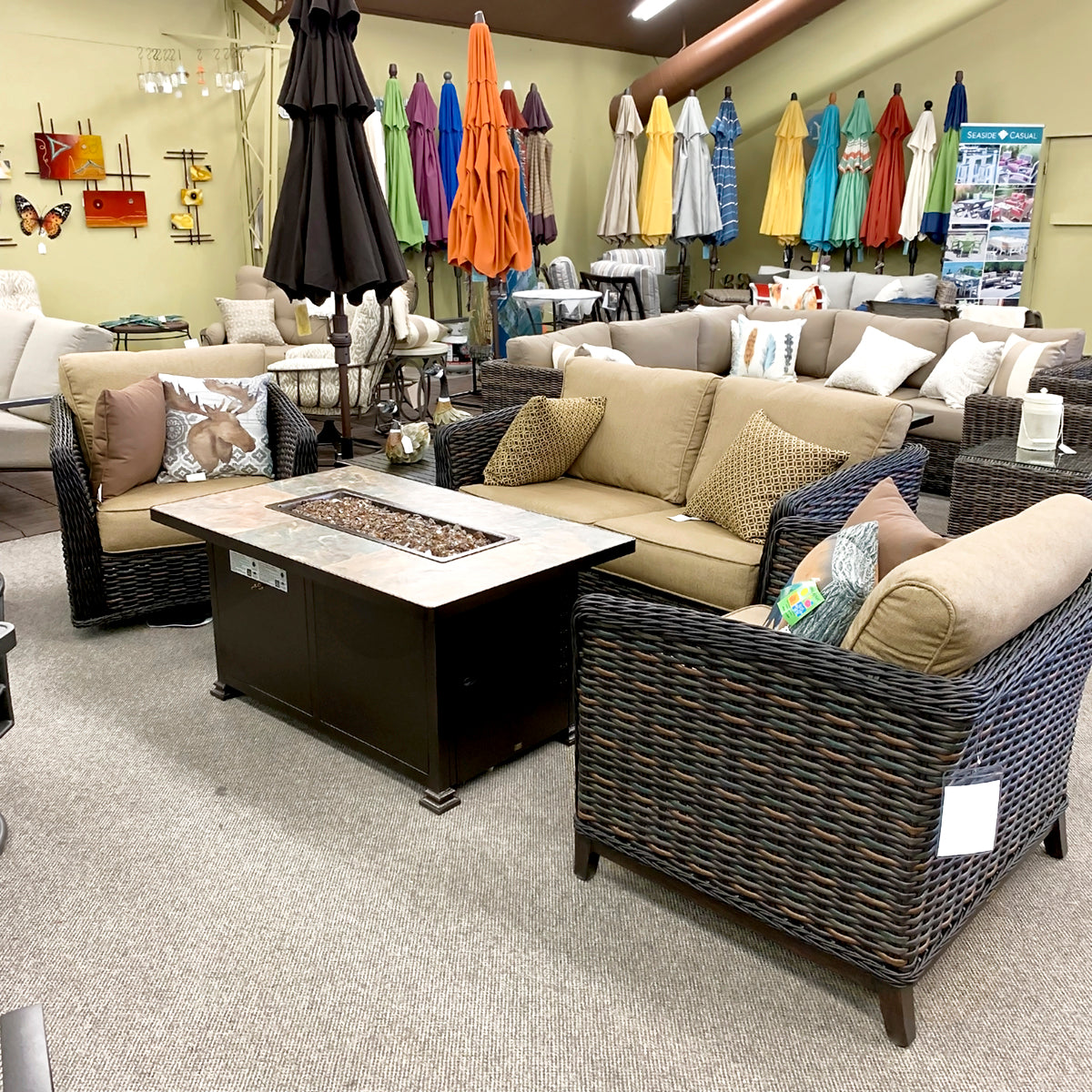 Patio Renaissance Catalina Lounge Chair is available at Jacobs Custom Living our Jacobs Custom Living Spokane Valley showroom.