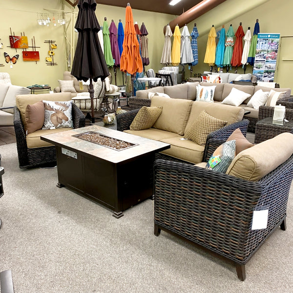 Patio Renaissance Catalina Patio Loveseat is available at Jacobs Custom Living our Jacobs Custom Living Spokane Valley showroom.