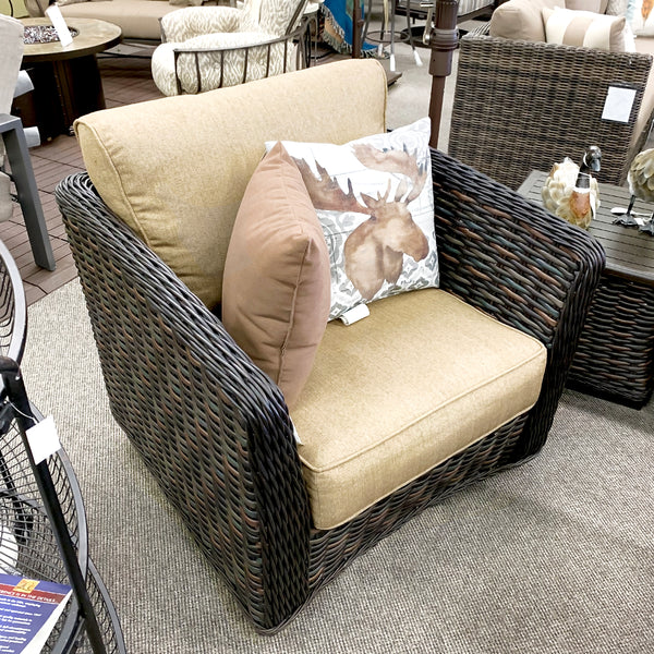Patio Renaissance Catalina Patio Swivel Glider is available at Jacobs Custom Living our Jacobs Custom Living Spokane Valley showroom.