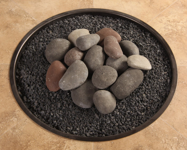 Hi-Heat Ceramic Rock w/ Lava Granules Fire Media Kit is available at Jacobs Custom Living Spokane Valley showroom.