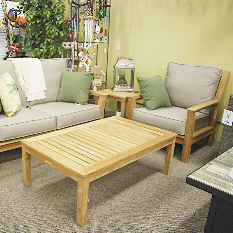 Kingsley-Bate Chelsea Teak Patio Lounge Chair CO30 - Outdoor Furniture, Indoor Furniture & Upholstery Store Spokane - Jacobs Custom Living