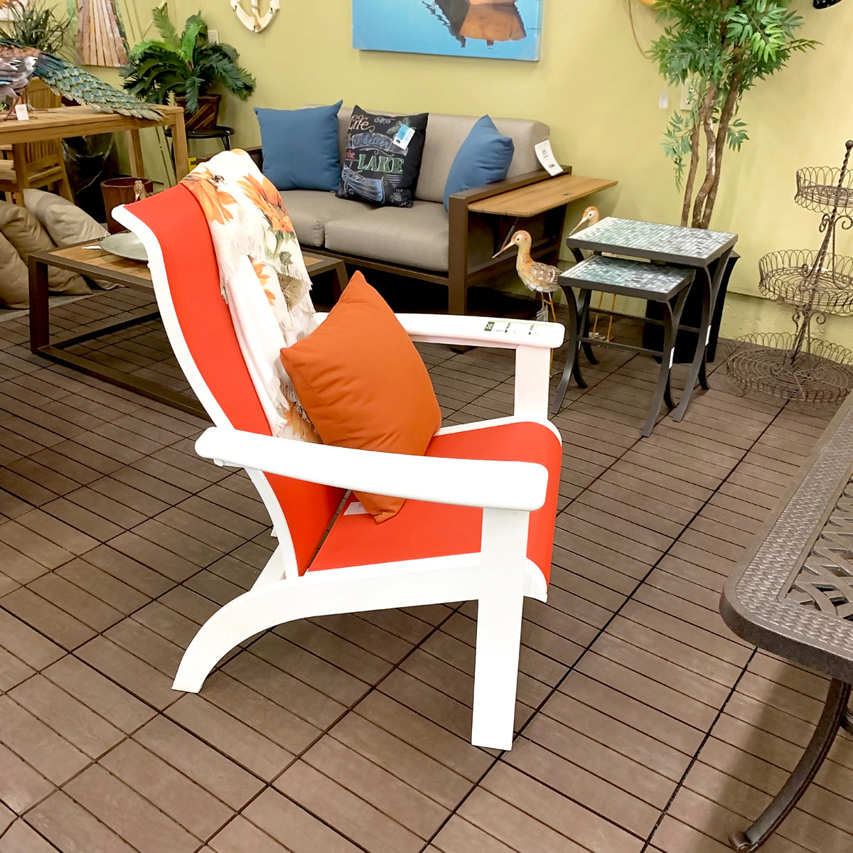 Telescope Adirondack Sling Chair is available at our Jacobs Custom Living Spokane Valley showroom.