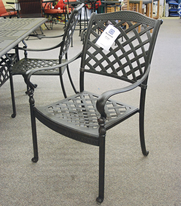 Hanamint Berkshire dining chair is available at Jacobs Custom Living Spokane Valley showroom.