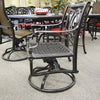 Gensun Bel Air Patio Dining Swivel Rocker is available at Jacobs Custom Living Spokane Valley showroom.