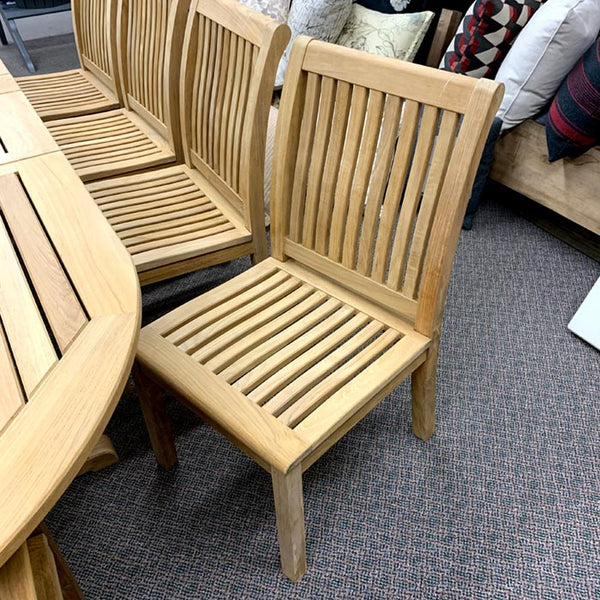 Kingsley Bate's Chelsea Patio Dining Side Chair is available at Jacobs Custom Living in Spokane WA.