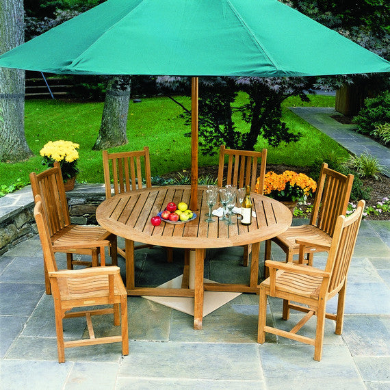 Classic Outdoor Patio Dining Arm Chair - Outdoor Furniture, Indoor Furniture & Upholstery Store Spokane - Jacobs Custom Living