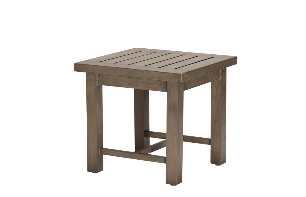 Club Outdoor Patio End Table - 3336-24 - Outdoor Furniture, Indoor Furniture & Upholstery Store Spokane - Jacobs Custom Living