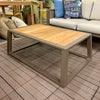 IndoSoul St. Lucia Outdoor Coffee Table in our Jacobs Custom Living Spokane Valley showroom.