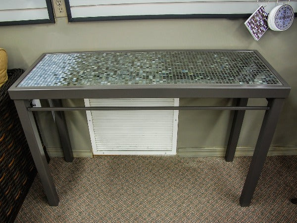 KNF Designs Console Mosaic Table - L32GFT - Outdoor Furniture, Indoor Furniture & Upholstery Store Spokane - Jacobs Custom Living