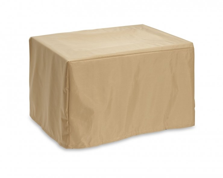 Protective Brooks Fire Pit Table Cover | The Outdoor Greatroom Company Jacobs Custom Living