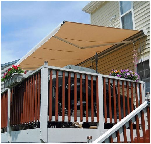 Destin Retractable Patio Awning is available at Jacobs Custom Living our Jacobs Custom Living Spokane Valley showroom.