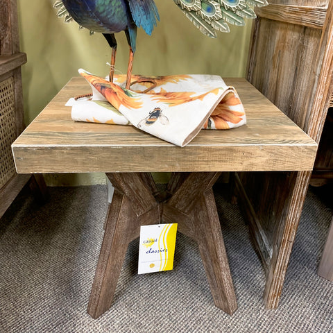 "Kingston Nantucket Eucalyptus 20"" End Table"