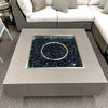 "Patio Renaissance Faux Concrete 42"" Square Fire Pit with Lid is available at Jacobs Custom Living our Jacobs Custom Living Spokane Valley showroom."