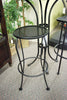 Bistro Backless Outdoor Patio Bar Stool