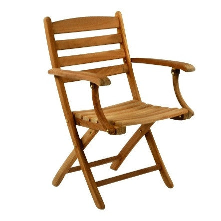 Gearhart Outdoor Patio Folding Arm Chair - Outdoor Furniture, Indoor Furniture & Upholstery Store Spokane - Jacobs Custom Living