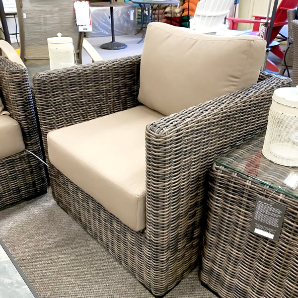 Greenville Patio Lounge Chair is available at Jacobs Custom Living our Jacobs Custom Living Spokane Valley showroom.