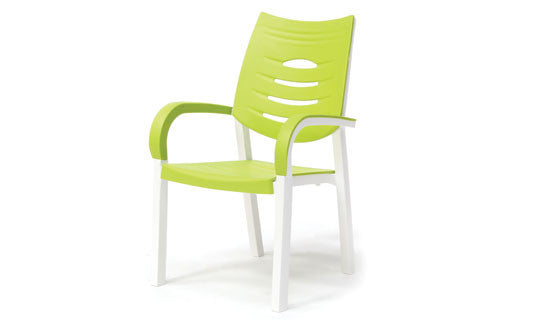Happy Outdoor Patio Chair Lime
