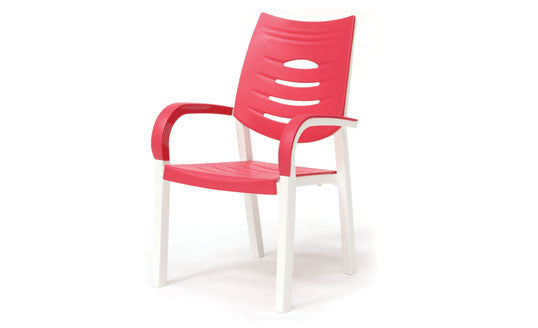 Happy Outdoor Patio Chair Coral - Outdoor Furniture, Indoor Furniture & Upholstery Store Spokane - Jacobs Custom Living