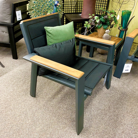 IndoSoul Geneva Outdoor Patio Club Chair in our Jacobs Custom Living Spokane Valley showroom.