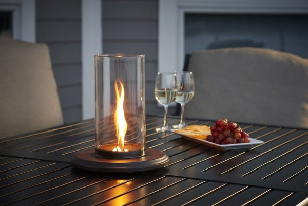 Intrigue Table Top Outdoor Lantern | The Outdoor Greatroom Company