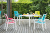 Happy Outdoor Patio Chair Turquoise