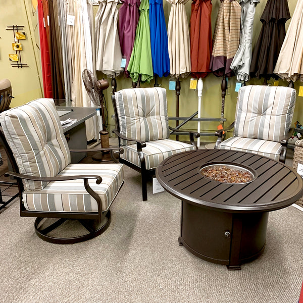 Patio Renaissance Mandalay Patio Lounge Chair is available at Jacobs Custom Living our Jacobs Custom Living Spokane Valley showroom.