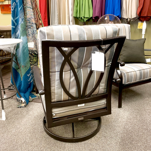 Patio Renaissance Mandalay Patio Swivel Rocker is available at Jacobs Custom Living our Jacobs Custom Living Spokane Valley showroom.