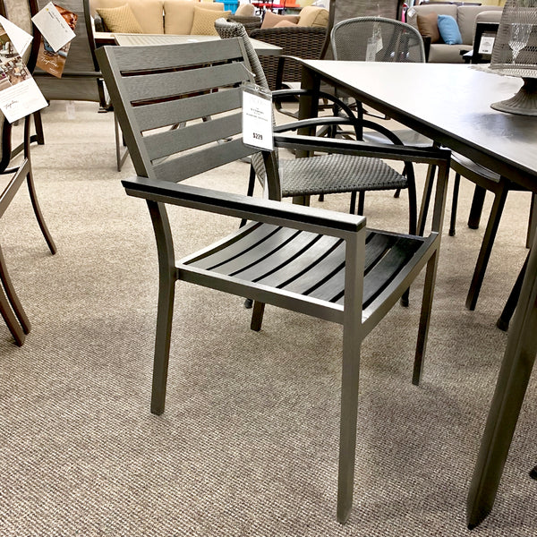 Patio Renaissance Mesa Patio Dining Arm Chair is available at Jacobs Custom Living our Jacobs Custom Living Spokane Valley showroom.