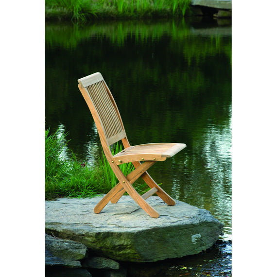 Monterey Outdoor Patio Folding Side Chair