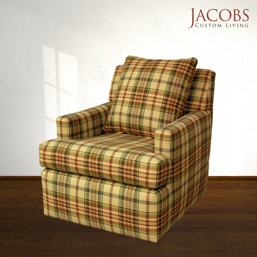 Re Upholstery With Plaid Furniture Store Spokane