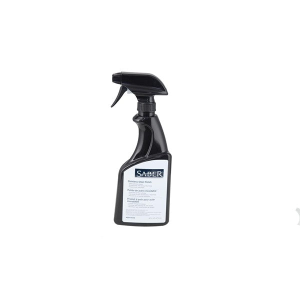 Saber Stainless Steel Polish 16 oz. Sprayer is available in our Jacobs Custom Living Spokane Valley showroom.