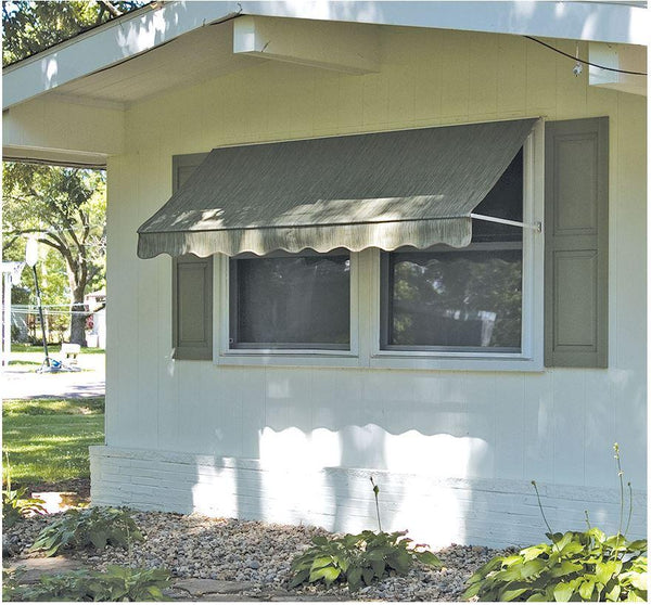 Rainbow Economy Roll-Up Awning is available at Jacobs Custom Living our Jacobs Custom Living Spokane Valley showroom.