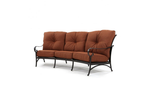 Santa Barbara Outdoor Patio Crescent Sofa
