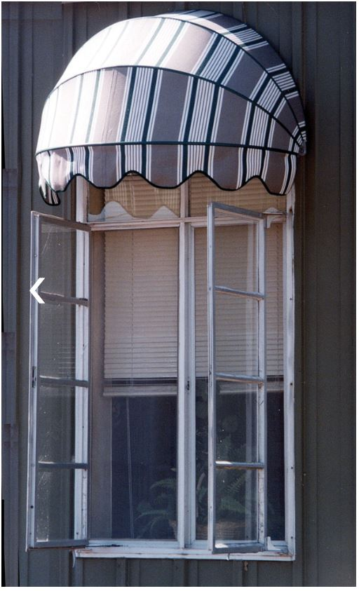 Seville Dome-Shaped Awning is available at Jacobs Custom Living our Jacobs Custom Living Spokane Valley showroom.