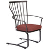 O.W. Lee Monterra Outdoord Patio Spring Base Dining  Arm Chair is at Jacobs Custom Living.