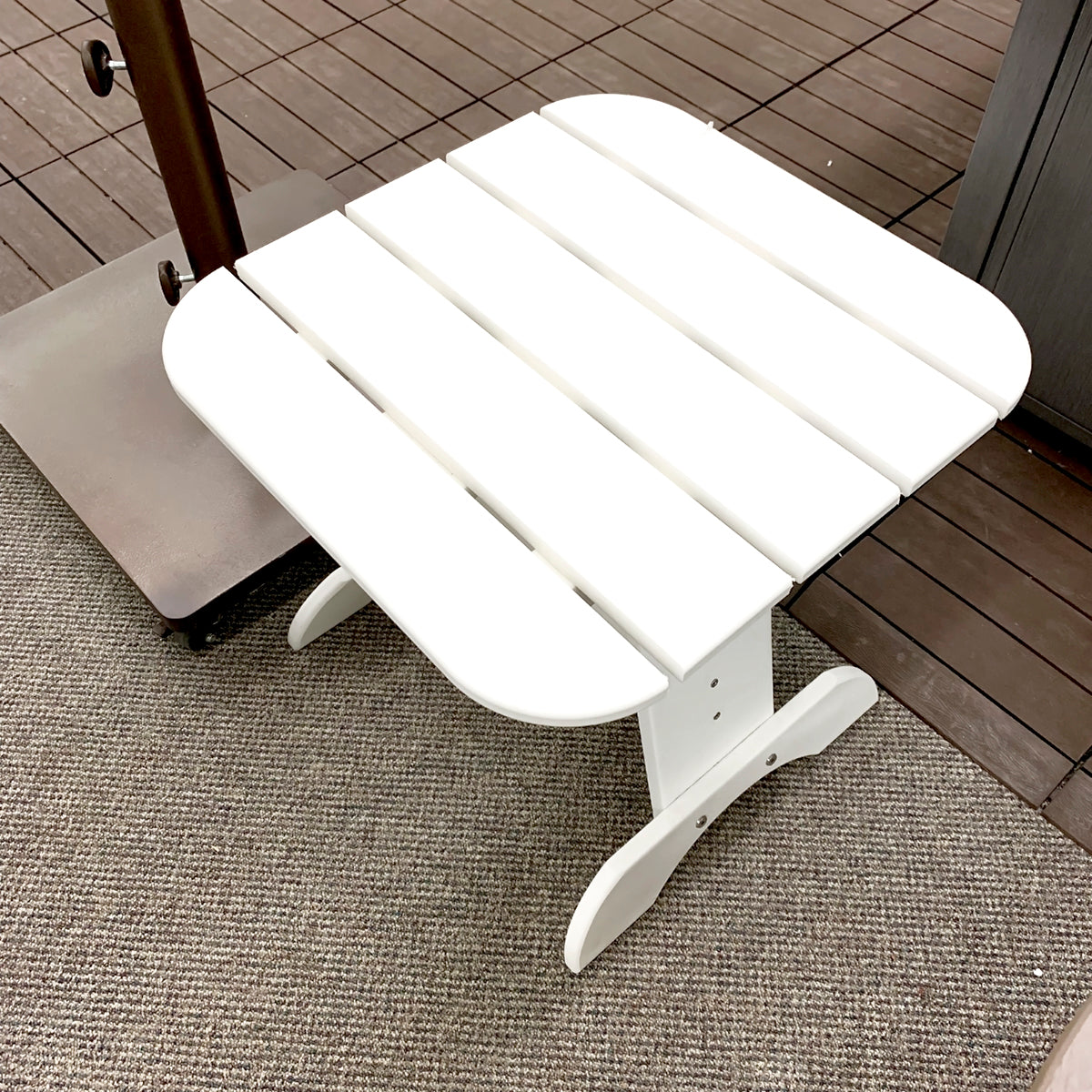 Seaside Casual Adirondack End Table is available in our Jacobs Custom Living Spokane Valley Showroom.