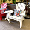 Seaside Casual Adirondack Shell back Chair is available in our Jacobs Custom Living Spokane Valley Showroom.