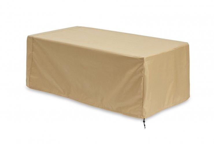 Protective Vintage Linear Fire Pit Table Cover at jacobs custom living spokane wa