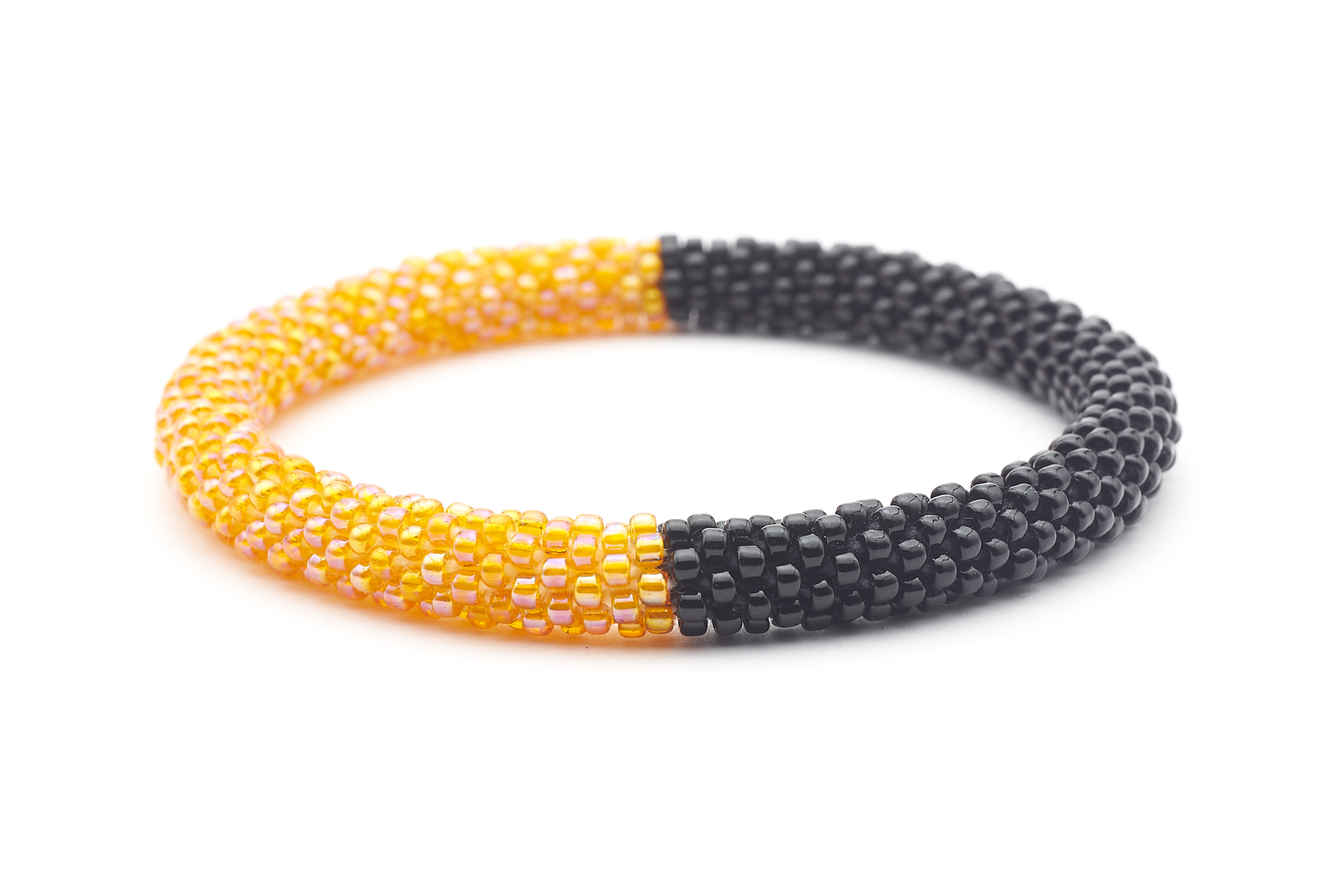 Sashka Co. Kids Bracelet Iridescent Orange / Black Black and Orange Bracelet - Kids