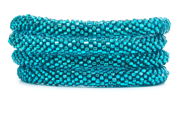 Sashka Co. Kids Bracelet Teal Teal Solid Bracelet  - Kids
