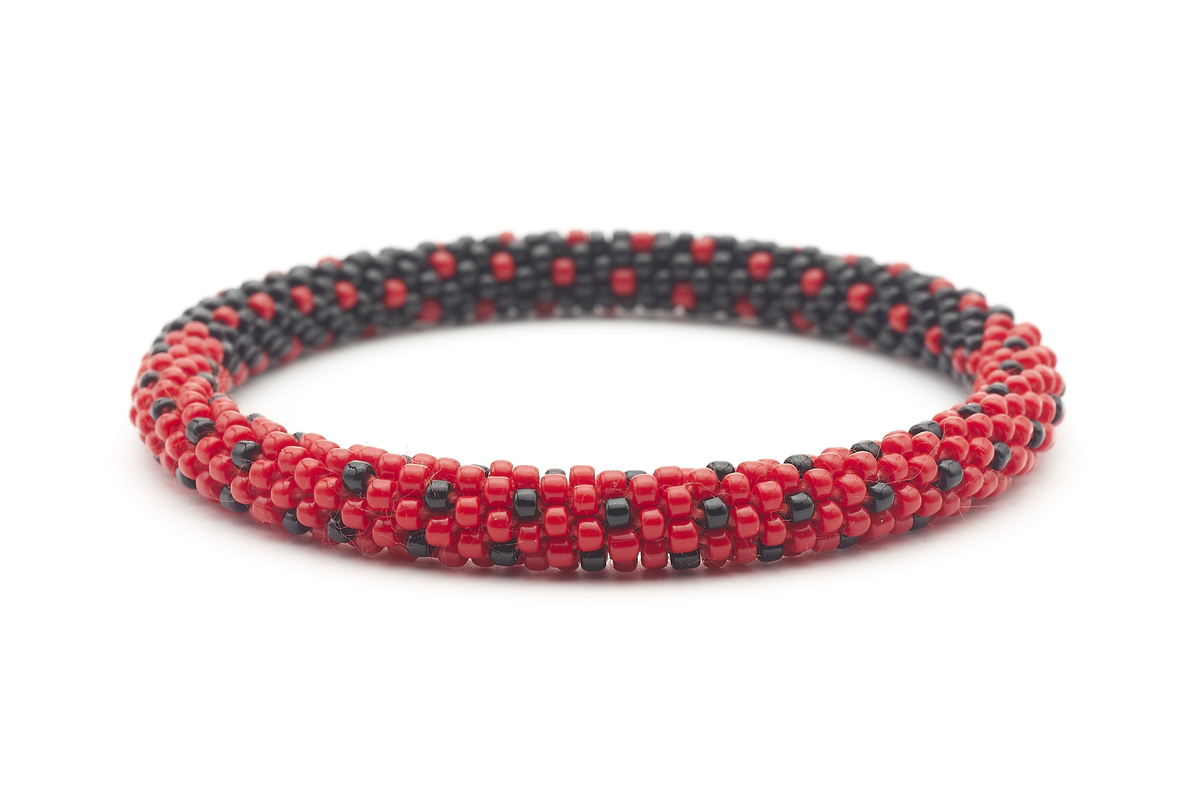 Sashka Co. Original Bracelet Red / Black LadyBug Bracelet