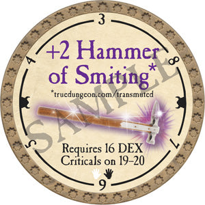 +2 Hammer of Smiting - ONYX