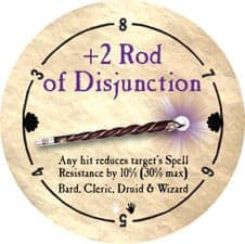 +2 Rod of Disjunction