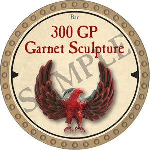 300 GP Garnet Sculpture