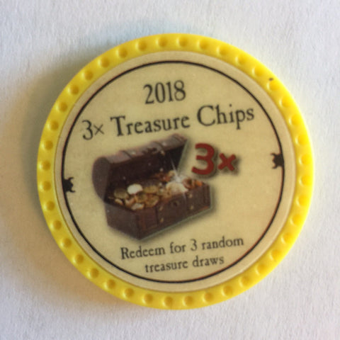 2018 3x Treasure Chip