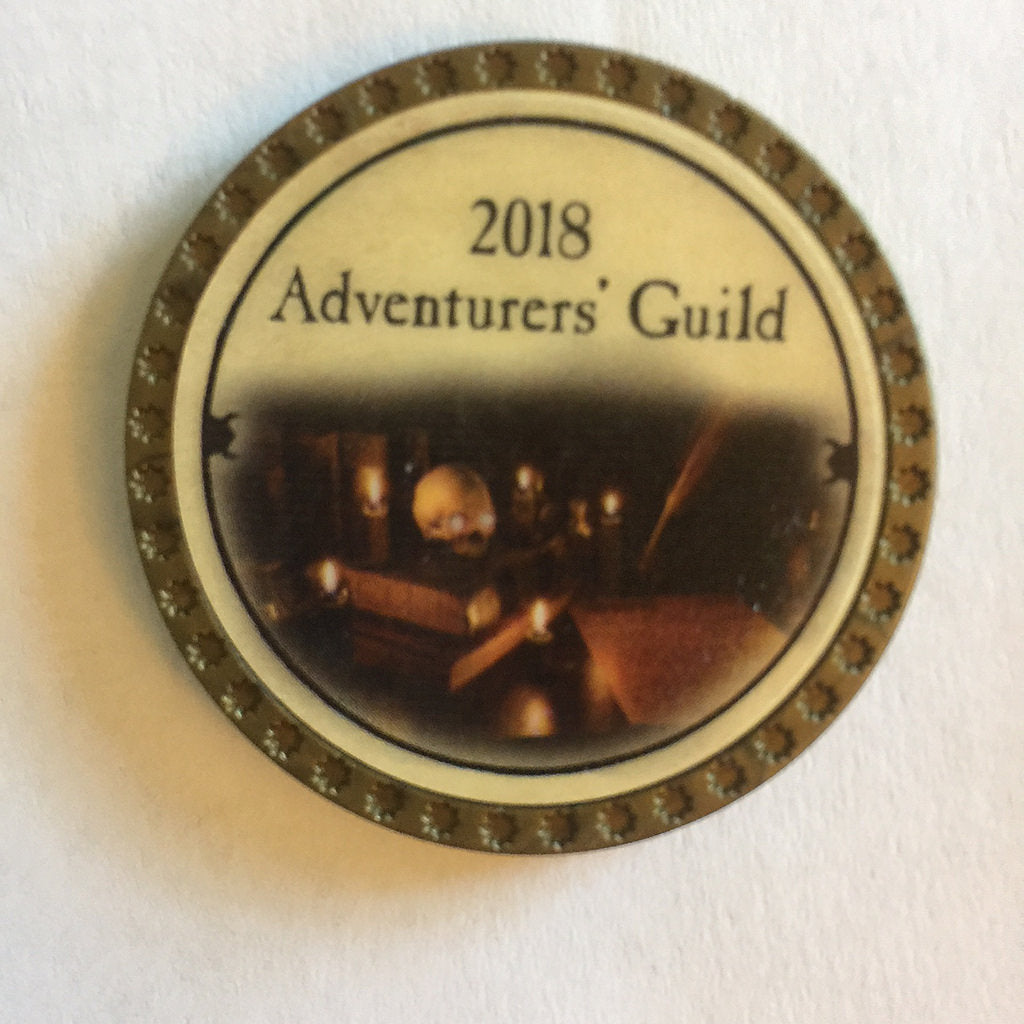 2018 Adventurer's Guild Token